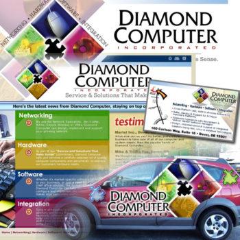 Diamond Computer Branding