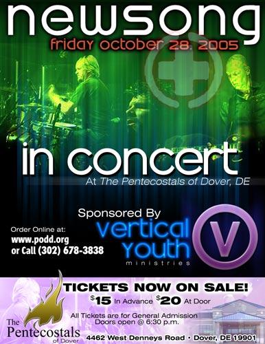 Newsong Concert Flyer