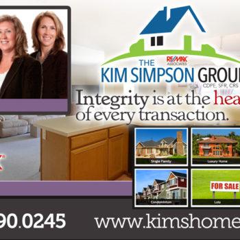 Remax Kim Simpson Group Ad