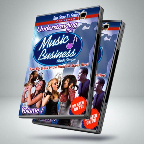 Bro Steve Productions – Understanding the Music Business DVD Case