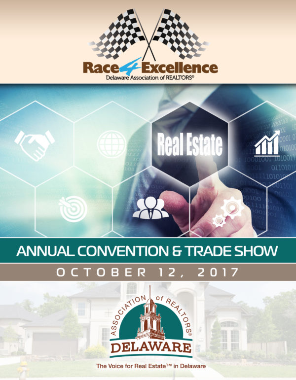 Delaware Association of Realtors Cover & Event Book Design & Production