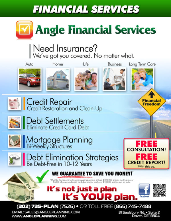 Angle Financial & Business Services Delaware Flyer
