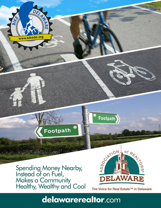 Bike Delaware Delaware Association of Realtors Ad