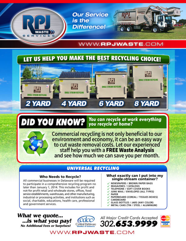 RPJ Waste Services Flyers