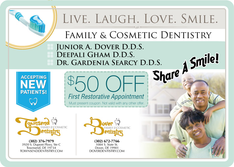 Townsend Dover Family Cosmetic Dentistry | Splash