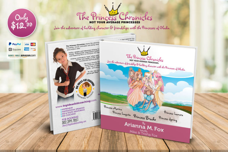 Arianna Fox – Big Ideas Kid Coaching – The Princess Chronicles book cover