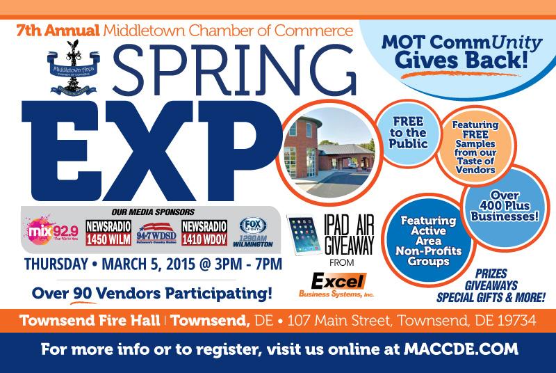 Middletown Area Chamber of Commerce Spring Expo | Splash